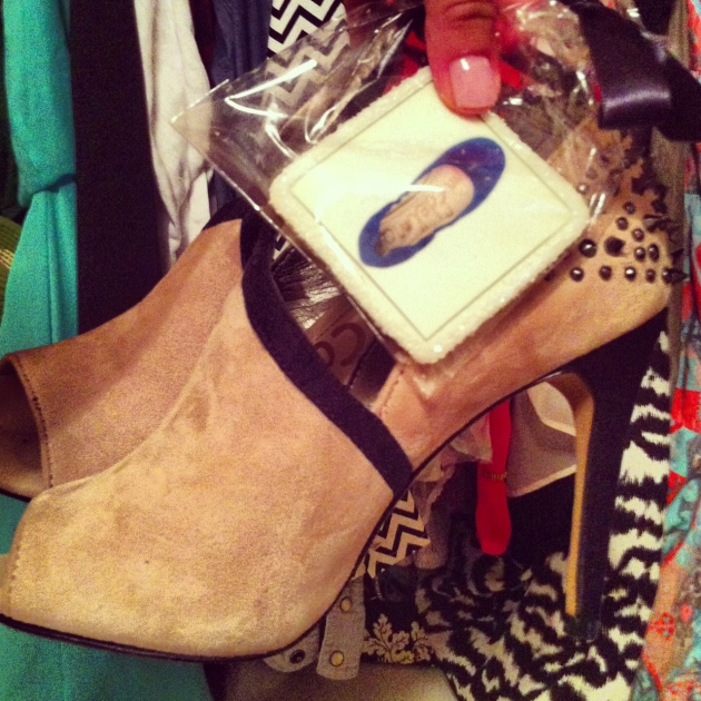 Sam Edelman spiked high heels almost getting it together
