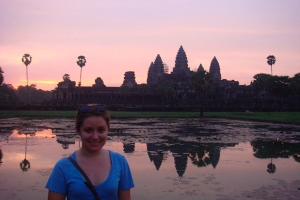 almost getting it together | sunrise at angkor wat