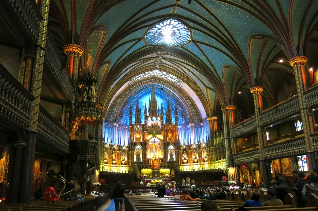 basilica de notre dame montreal | almost getting it together
