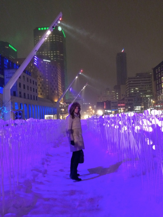 montreal en lumiere | almost getting it together