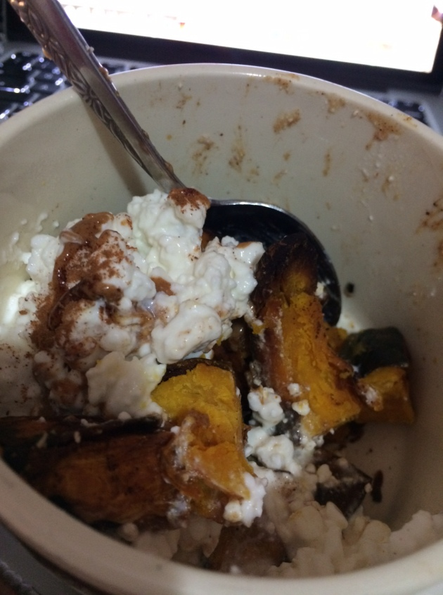 roasted kabocha squash | almost getting it together