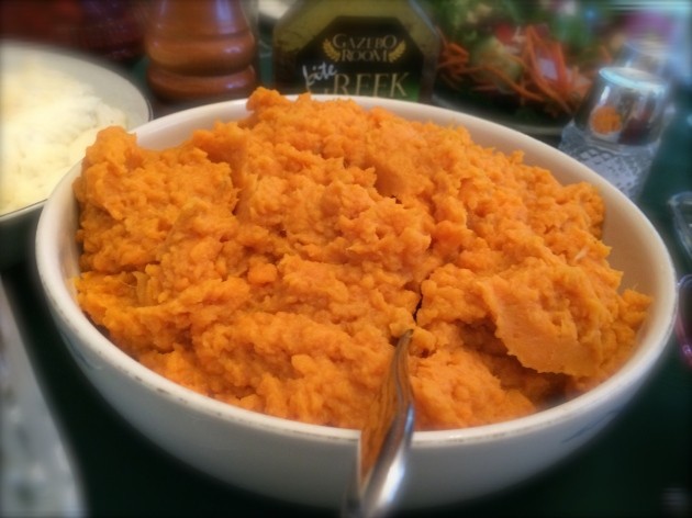 mashed sweet potatoes | almost getting it together