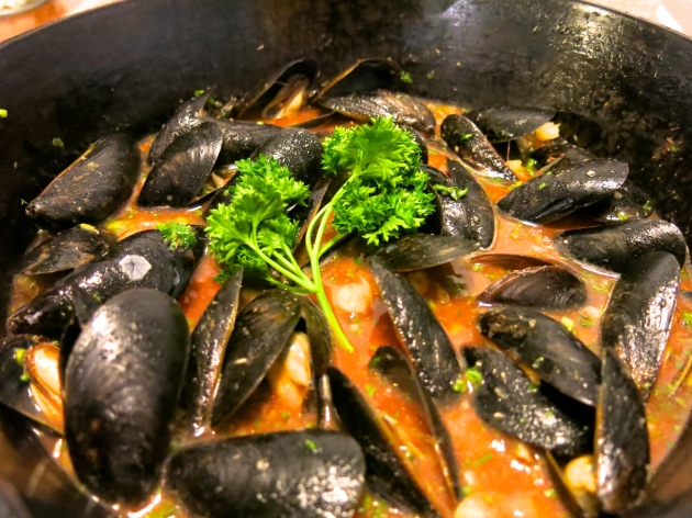 bloody mary mussels | almost getting it together