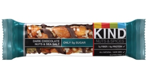 Kind Chocolate & Sea Salt bar | almost getting it together