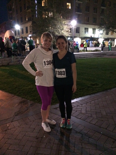 savannah shamrock 5k | almost getting it together